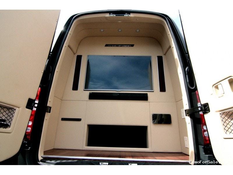 New 2015 Mercedes Benz Sprinter Van Limo HQ Custom Design