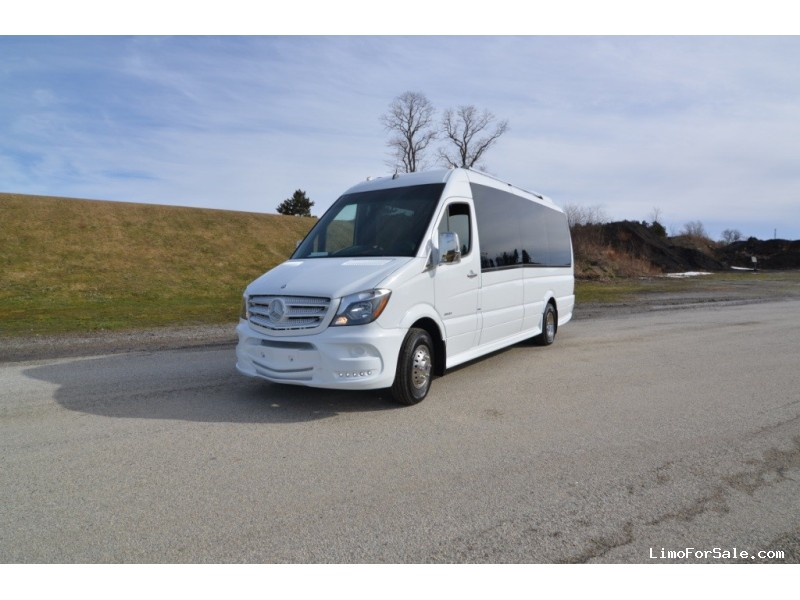 New 2015 Mercedes-Benz Sprinter Mini Bus Shuttle / Tour  - North East, Pennsylvania - $114,900