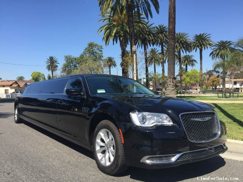 Used 2016 Chrysler 300 Sedan Stretch Limo American