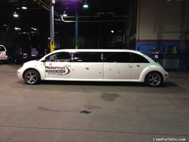 volkswagen beetle sedan stretch limo ultra cincinnati ohio  limo  sale