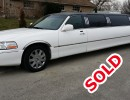 2004, Lincoln Town Car, Sedan Stretch Limo, LCW