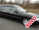 2001, Lincoln Town Car, Funeral Hearse, Federal