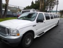 2003, Ford Excursion, SUV Stretch Limo, Executive Coach Builders