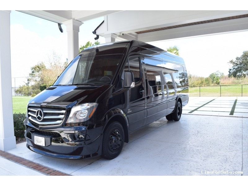 Used 2016 mercedes benz sprinter mini bus limo grech for Mercedes benz party bus