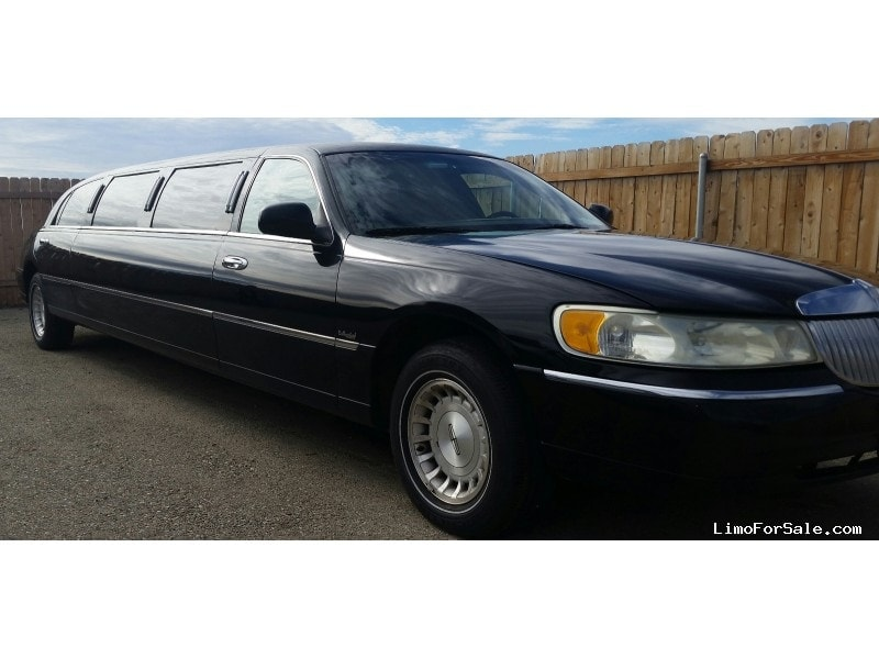 used 1998 lincoln town car sedan stretch limo dabryan rancho cucamonga california 4 495. Black Bedroom Furniture Sets. Home Design Ideas