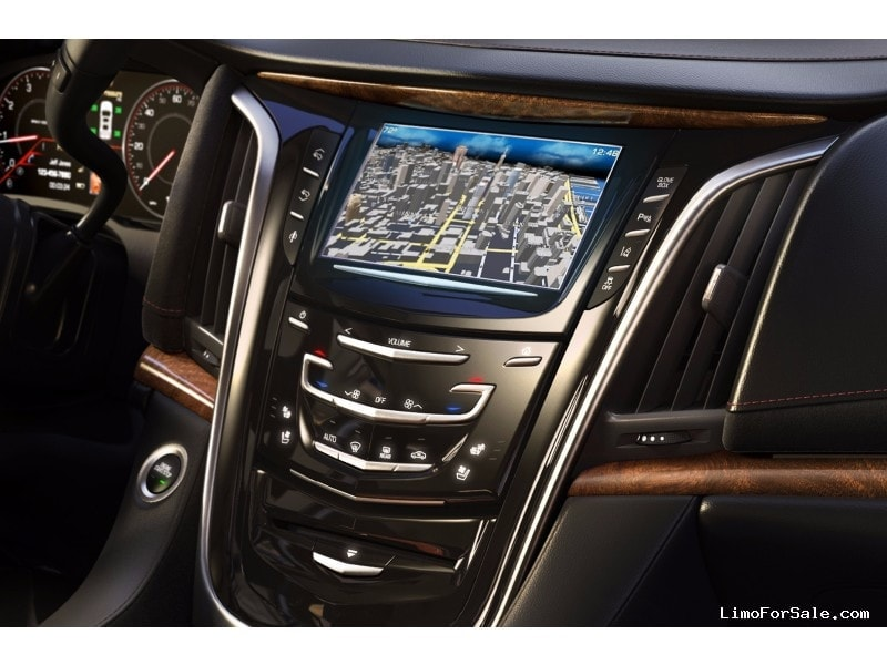 cadillac escalade interior 2015. used 2015 cadillac escalade suv stretch limo pinnacle limousine manufacturing orange california 131000 interior e