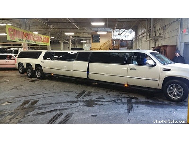 Used 2008 Cadillac Escalade ESV SUV Stretch Limo Pinnacle Limousine Manufacturing - West Allis,, Wisconsin - $60,000
