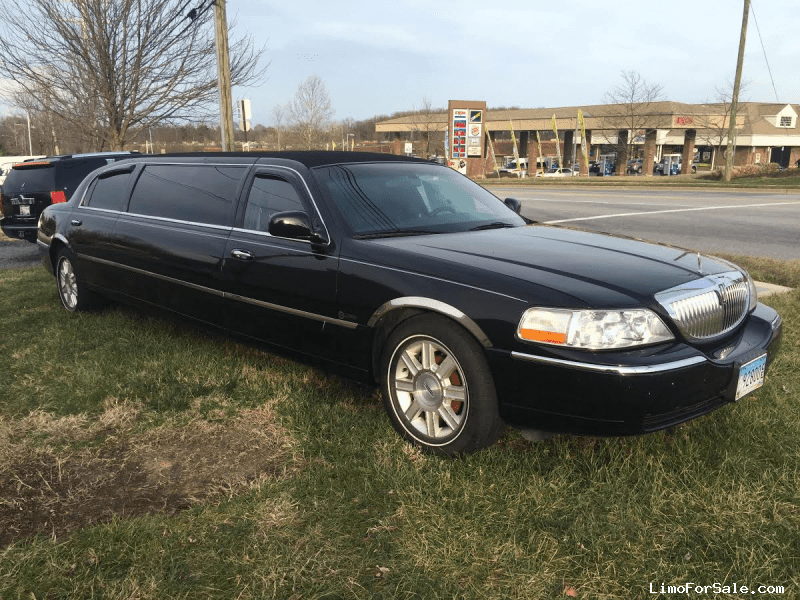 Used 2008 Lincoln Town Car Sedan Stretch Limo Executive Coach Builders - Linthicum, Maryland - $19,995