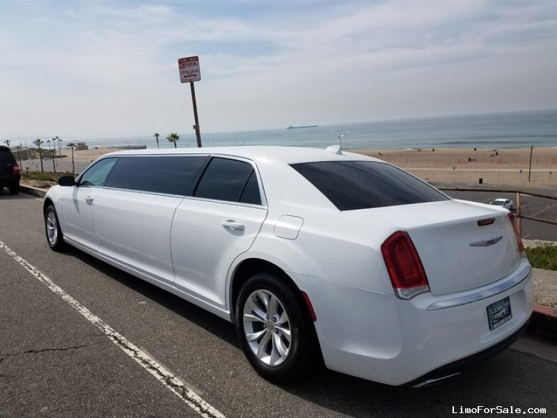 used 2016 chrysler 300 sedan stretch limo american limousine sales los angeles california. Black Bedroom Furniture Sets. Home Design Ideas