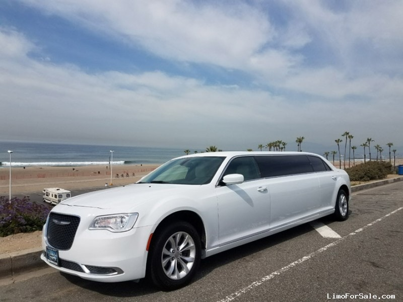 Used 2016 Chrysler 300 Sedan Stretch Limo American Limousine Sales - Los angeles, California - $47,995