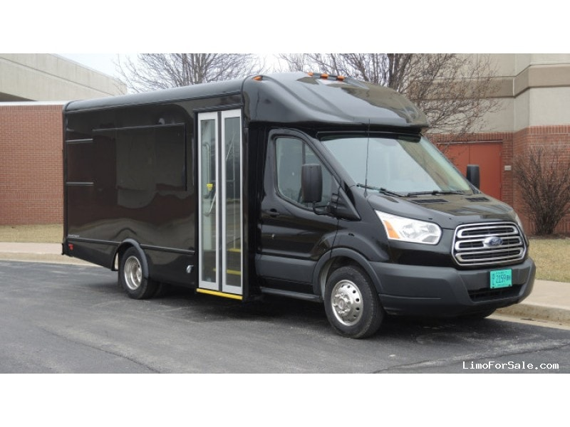 New 2016 Ford Transit Van Shuttle / Tour Starcraft Bus - Kankakee, Illinois - $55,950