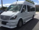 2016, Mercedes-Benz Sprinter, Mini Bus Limo, Midwest Automotive Designs