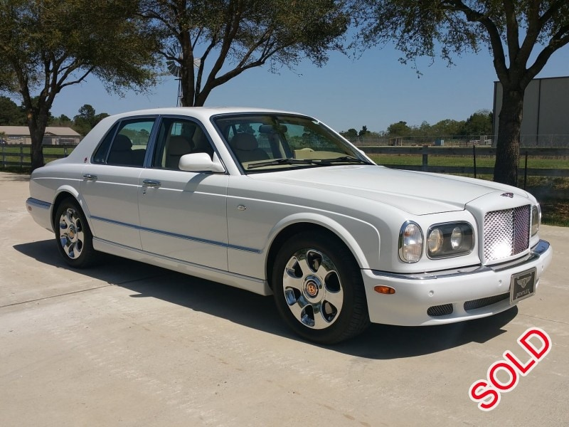 Used 2002 Bentley Arnage Sedan Limo  - Cypress, Texas - $25,000
