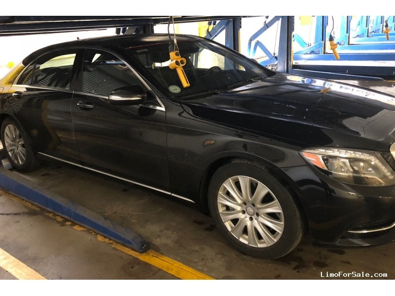 Used 2015 Mercedes-Benz S550 Sedan Limo  - New York, New York    - $53,995