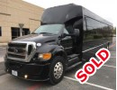 2015, Ford F-750, Mini Bus Shuttle / Tour, Tiffany Coachworks