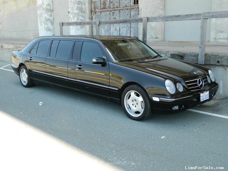 Used 2000 mercedes benz e class sedan stretch limo for Mercedes benz richmond