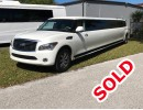 Used 2011 Infiniti SUV Stretch Limo Pinnacle Limousine Manufacturing - Sarasota, Florida - $32,500