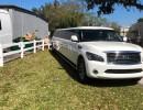 Used 2011 Infiniti SUV Stretch Limo Pinnacle Limousine Manufacturing - Sarasota, Florida - $32,500