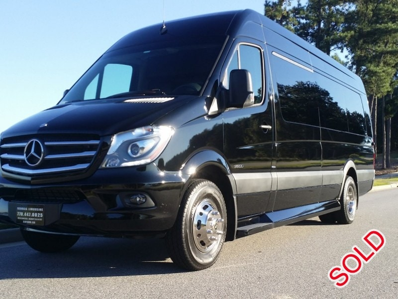 Used 2015 Mercedes-Benz Van Limo First Class Customs - buford, Georgia - $74,000