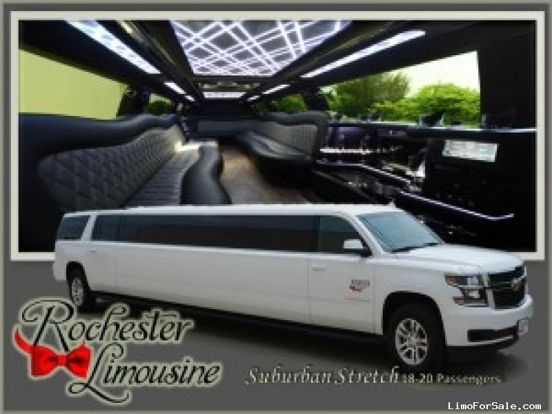 Used 2015 Chevrolet SUV Stretch Limo Quality Coachworks - pontiac, Michigan - $65,400