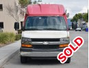 Used 2009 Chevrolet Van Shuttle / Tour Turtle Top - Fontana, California - $8,995