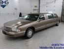 1998, Cadillac De Ville, Sedan Stretch Limo, Krystal