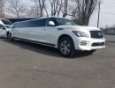 Used 2015 Infiniti QX80 SUV Stretch Limo Pinnacle Limousine Manufacturing - Avenel, New Jersey    - $75,000