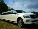 2015, Infiniti QX80, SUV Stretch Limo, Pinnacle Limousine Manufacturing