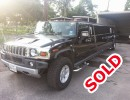 Used 2008 Hummer H2 SUV Stretch Limo Executive Coach Builders - Houston, Texas - $21,900