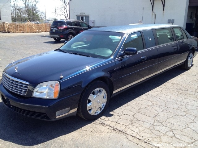 used 2003 cadillac de ville funeral limo superior coaches. Black Bedroom Furniture Sets. Home Design Ideas