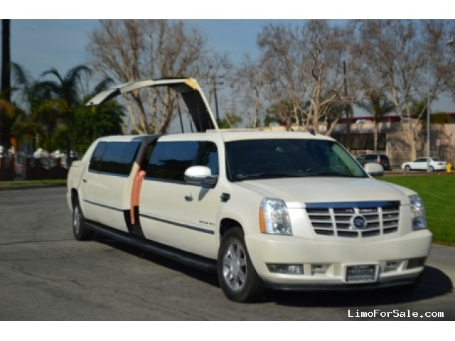 used 2007 cadillac escalade ext suv stretch limo los angeles california 53 995 limo for sale. Black Bedroom Furniture Sets. Home Design Ideas