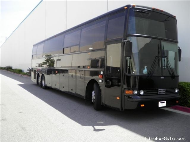 Used 1998 Van Hool T945 Motorcoach Limo Lime Lite Coach