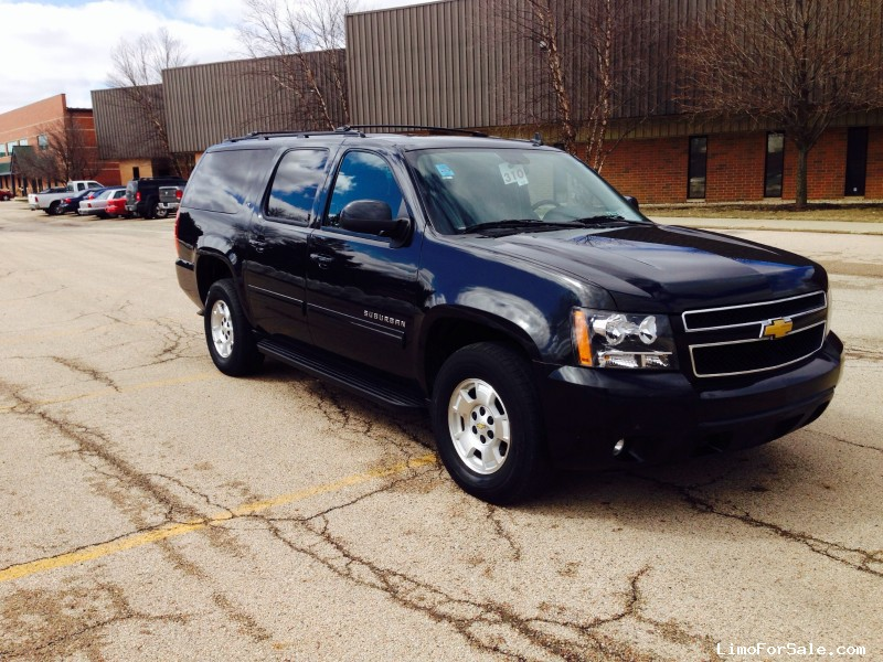used 2013 chevrolet suburban suv limo winona minnesota 19 500 limo for sale. Black Bedroom Furniture Sets. Home Design Ideas