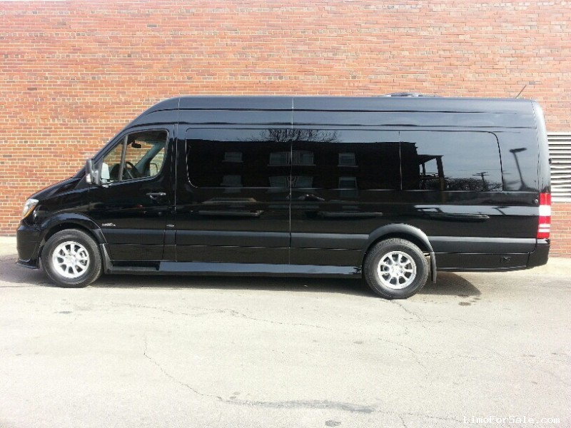 New 2015 mercedes benz sprinter van limo midwest for Mercedes benz cleveland ohio