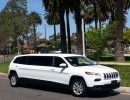 2015, Jeep Cherokee, SUV Stretch Limo, American Limousine Sales