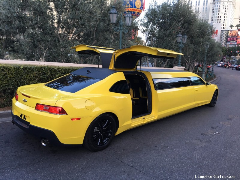 New 2015 Chevrolet Camaro Sedan Stretch Limo Signature ...