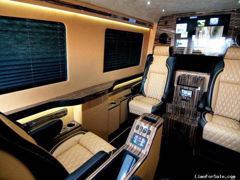 New 2014 mercedes benz sprinter van limo hq custom design for Mercedes benz sprinter custom interiors