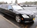 2012, Mercedes-Benz S550, Sedan Stretch Limo, Tiffany Coachworks