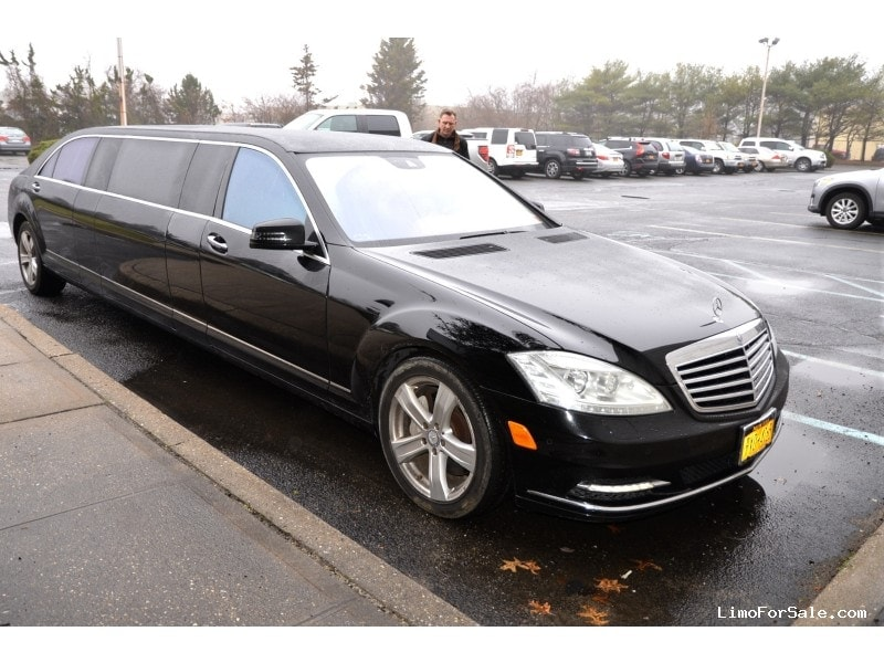 Used 2012 mercedes benz s550 sedan stretch limo tiffany for Mercedes benz used nj