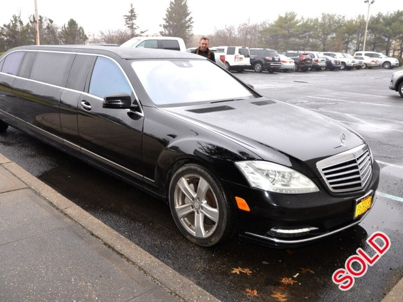 Used 2012 mercedes benz s550 sedan stretch limo tiffany for 2012 mercedes benz s550
