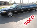 2004, Lincoln Town Car, Sedan Stretch Limo, Executive Coach Builders