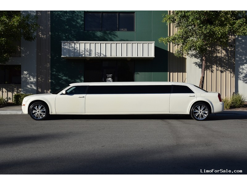 Used 2008 Chrysler 300 Sedan Stretch Limo American Limousine Sales