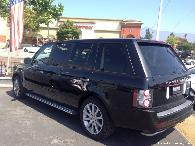 used 2010 land rover range rover suv stretch limo fontana california 69 000 limo for sale. Black Bedroom Furniture Sets. Home Design Ideas