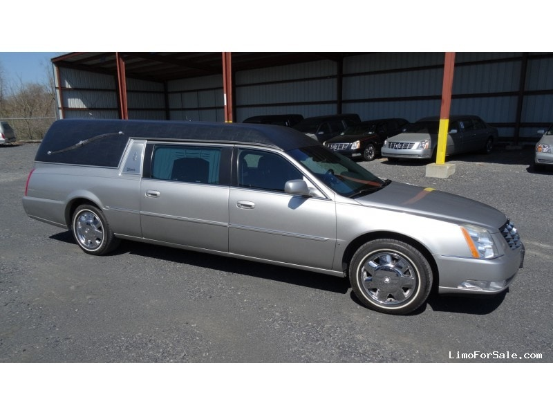 Used 2007 Cadillac DTS Funeral Hearse Superior Coaches