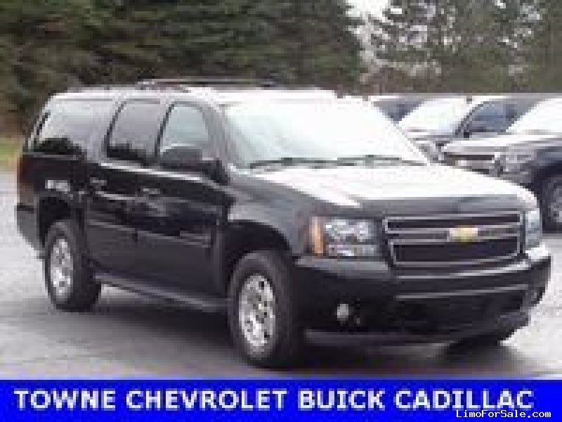 used 2013 chevrolet suburban suv limo orchard park new york 23 217 limo for sale. Black Bedroom Furniture Sets. Home Design Ideas