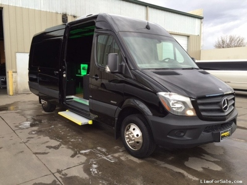 New 2016 mercedes benz sprinter van limo designer coach for New mercedes benz sprinter