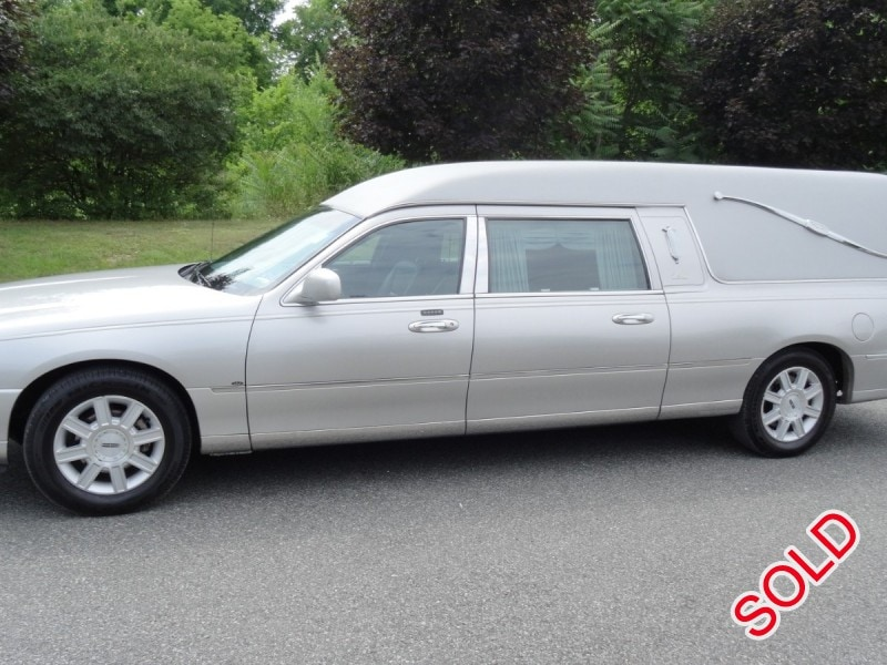 Used 2007 Lincoln Town Car Funeral Hearse Eagle Coach Company