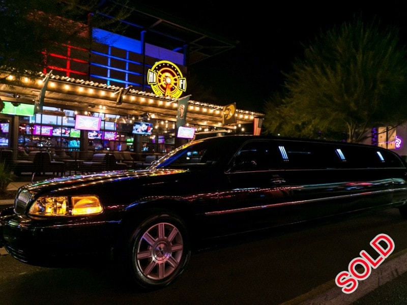 Used 2006 Lincoln Town Car Sedan Stretch Limo DaBryan - Phoenix, Arizona  - $13,999