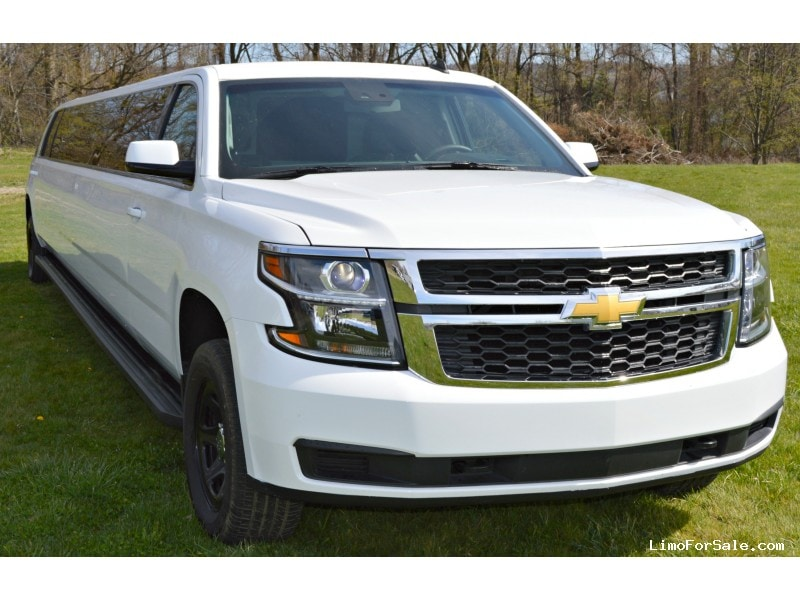 used 2015 chevrolet tahoe suv stretch limo elite coach north east pennsylvania 92 900. Black Bedroom Furniture Sets. Home Design Ideas