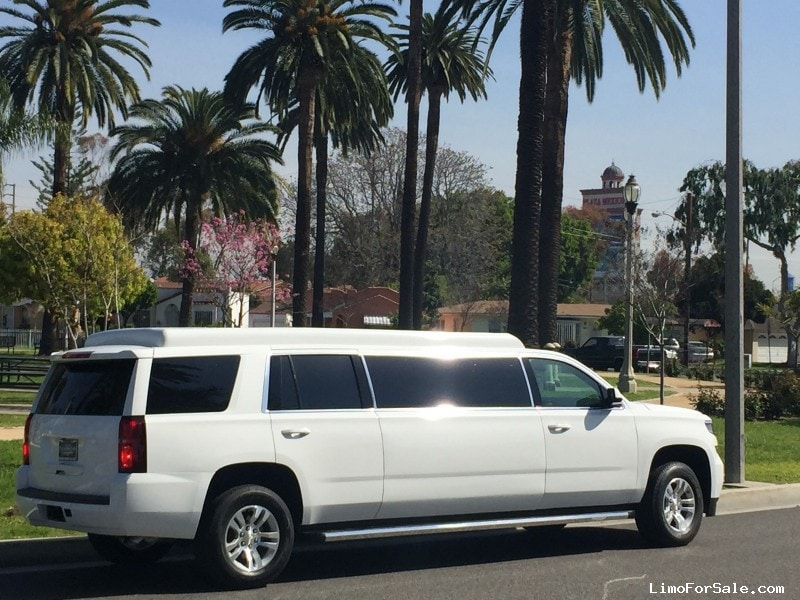 Used Chevrolet Tahoe Suv Stretch Limo American Limousine